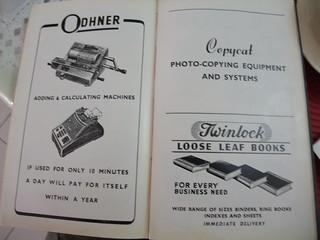 Odhner adding & calculating machines