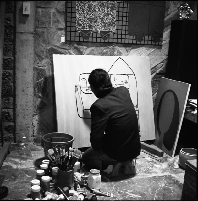 Thanh and Hai Painting II