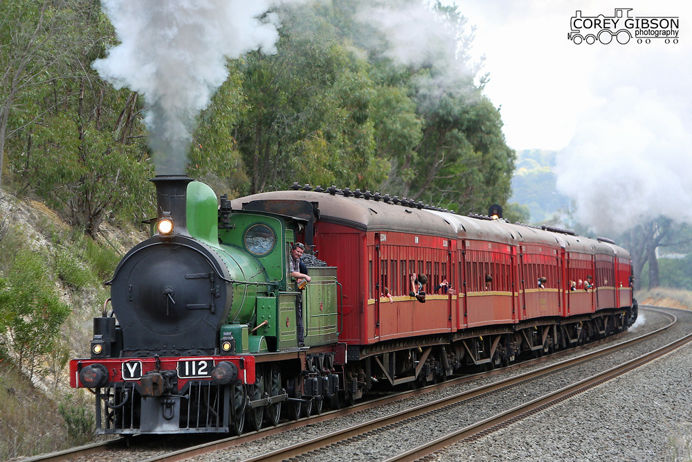 Y112 with the Ballarat Shuttle weekend by Corey Gibson
