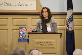 Gina Bennett at the Miller Center Forum   by Miller_Center