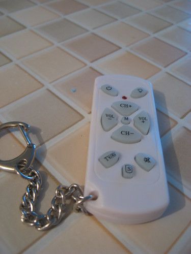 TV Remote Key Ring With Built In LED Torch. (2.5 inches X 1 inch) | by Bobert's Photostream