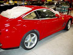 Ferrari pulido en Plaza Norte 2 CHAPO