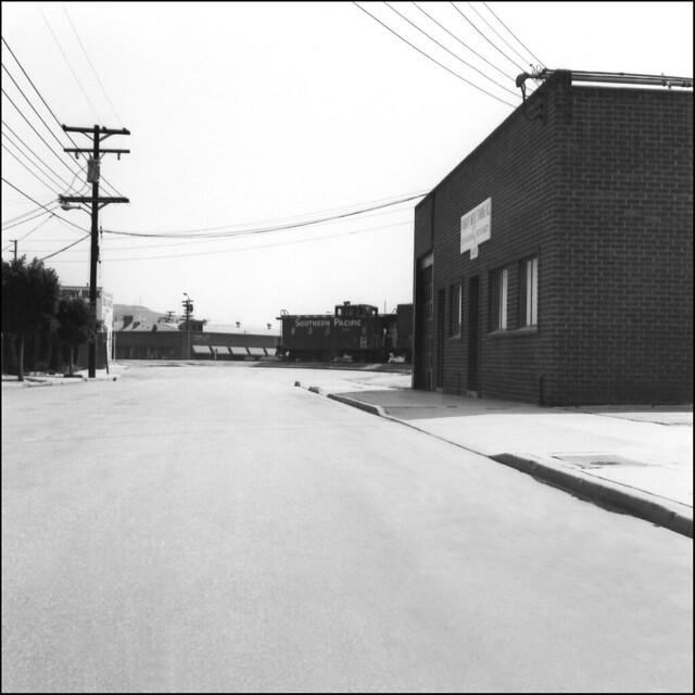 Wesley Street, Culver City 1977