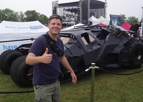 Me and the Batmobile | by Mike Boon