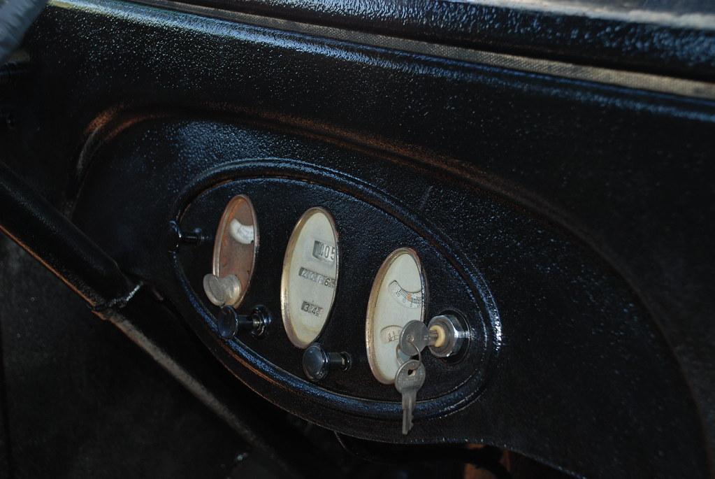 1929 Chevrolet truck dash gauges   1929 Chevrolet truck ...
