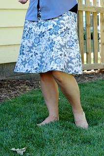 Sew What skirt
