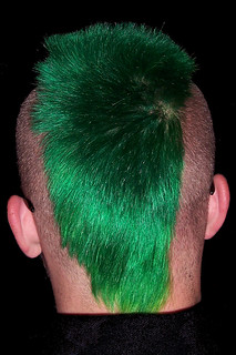 Guy's Green Mohawk | by teresia