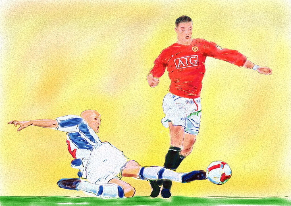 The Tackle - Ronaldo, Manchester United, tackled by Zuiverlo… - Flickr