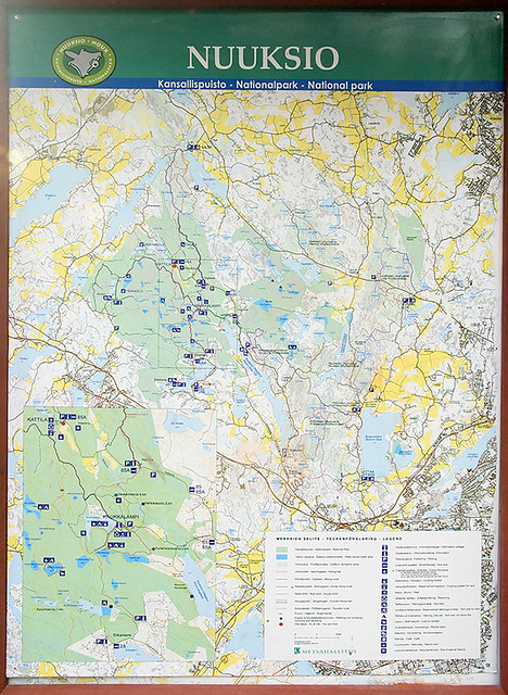 Nuuksio National Park Map Ilya Klebanov Flickr