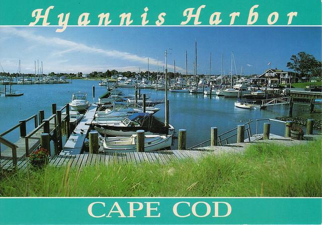 Hyannis Harbor Postcard