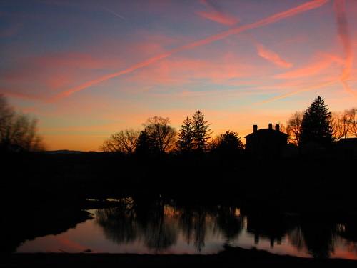 sunset virginia pond dusk shenandoahvalley drivebyshooting augustacounty powershots3 ericbeyeler