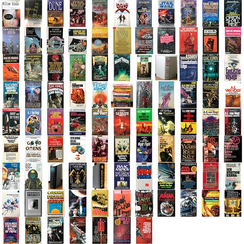 95 Mostly sci-fi books | by th3ph17