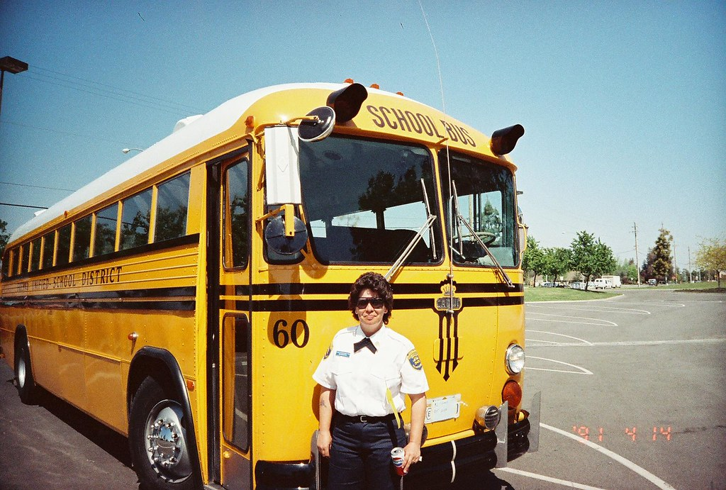 FRESNO UNIFIED SCHOOL DISTRICT BUS 60   This Driver had ...