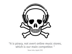 piracy vs iTunes | by Will Lion