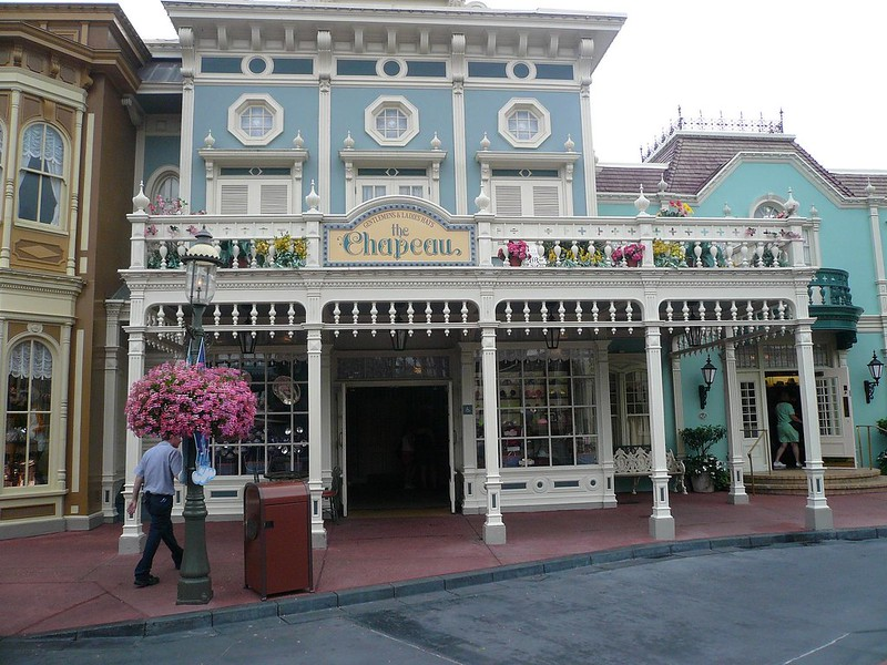 The Chapeau Main Street Magic Kingdom Walt Disney World