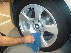 Limpieza de llantas, BMW