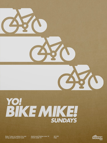 Yo! Bike Mike! Poster | by Network Osaka