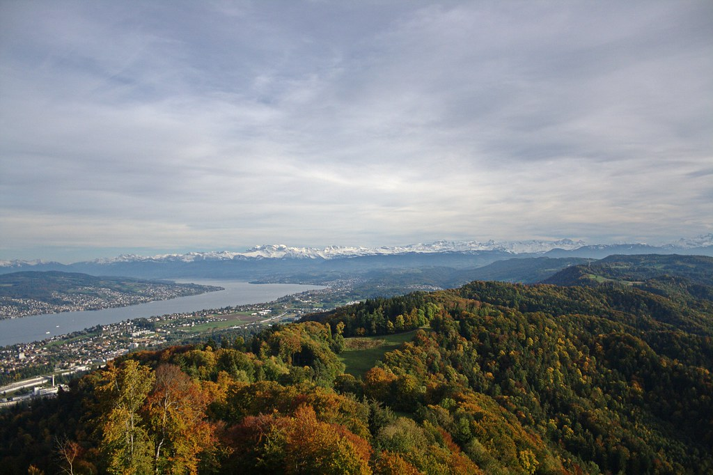 View of Zurich from Uetliberg #2