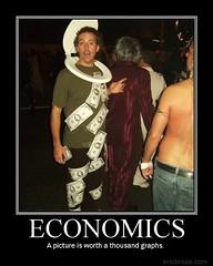 Economics Demotivator   by Capt. Joe Kickass