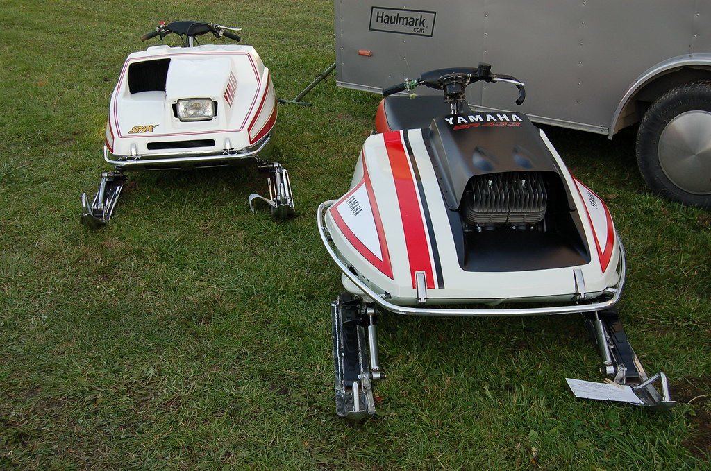 Yamaha SRX and Sr 433 | These two sleds were some of the mos
