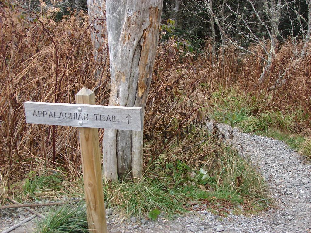 Appalachian Trail in Smoky Mountains