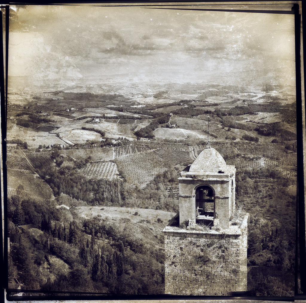 San Gimignano Bell Tower Antique by Arbor Lux