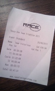 Tesco triathlon timesheet | by benaston