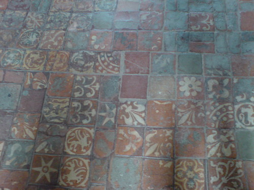 Medieval Floor Tiles In Winchester Cathedral Helen Lynn