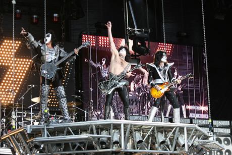 Kiss @ Download Festival 2008 | Kiss performing at Download … | Flickr
