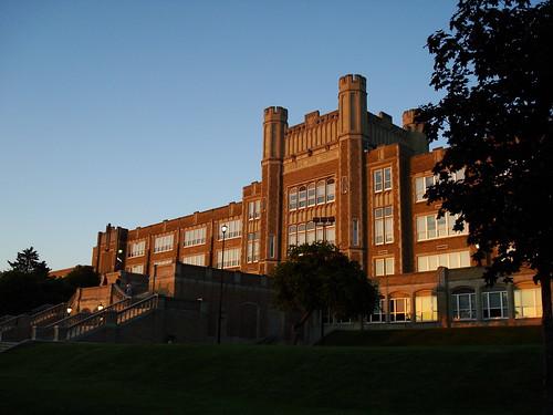 sunset reading pennsylvania highschool pa 1925 thecastleonthehill