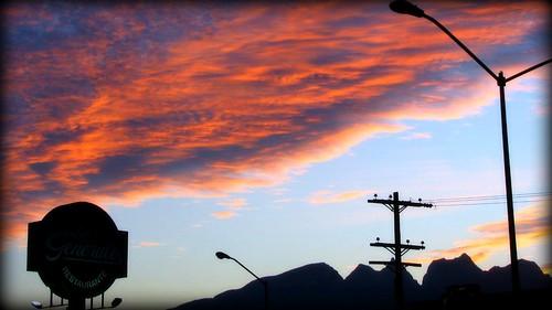 sunset sky cloud landscape mexico atardecer paisaje cielo nuevoleon nube 16x9 sannicolasdelosgarza febrero2008