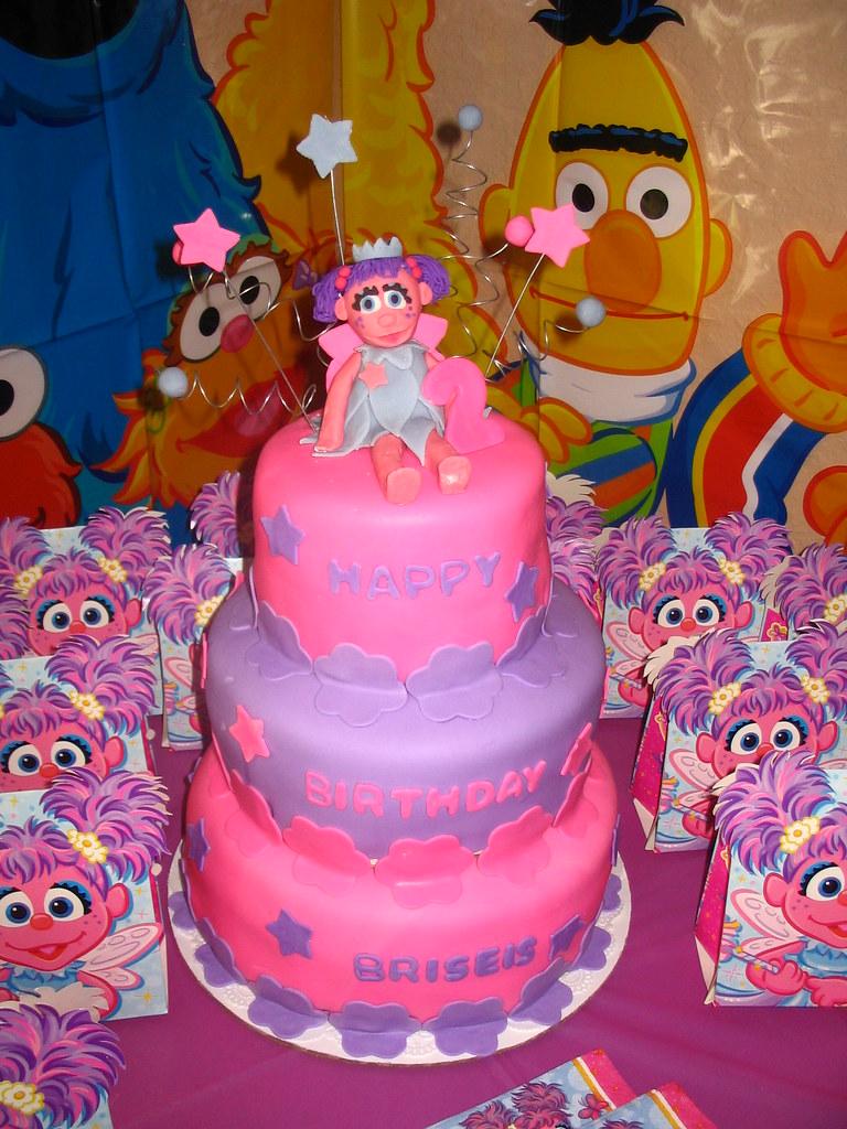 Peachy Abby Cadabby Cake Marilyn Carrillo Pineiro Flickr Personalised Birthday Cards Veneteletsinfo