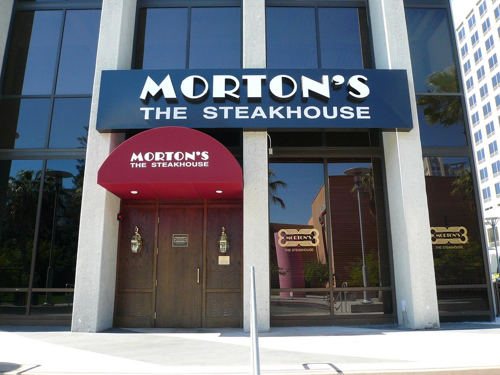 Mortons Steak House Restaurant San Jose Michael Gray Flickr