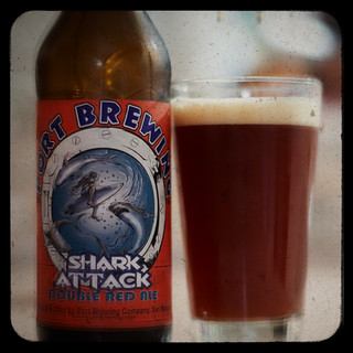 52 Beers Group, Week 6: Shark Attack, Double Red Ale -- Port Brewing Co. | by portlandbeer.org