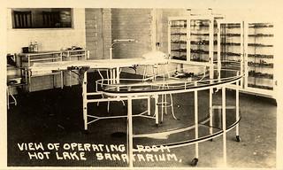 Operating Room, Hot Lake Sanatorium