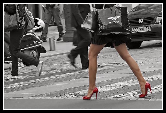De compras por Paris