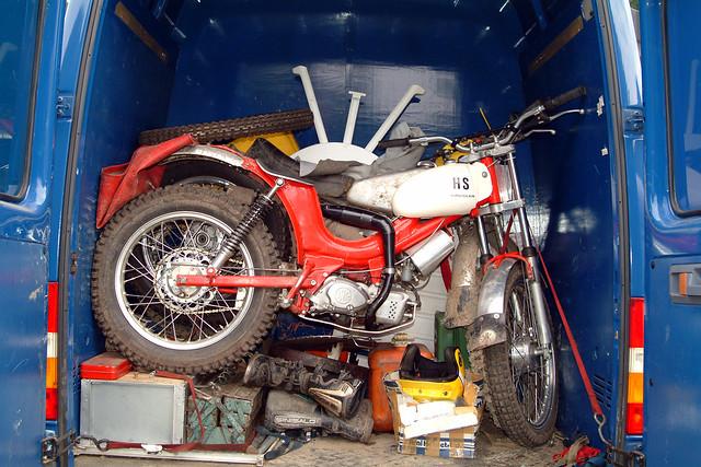 HS Kreidler Vintage Classic Trial Sport (c) 2005 Бернхард Эггер :: ru-moto images 440