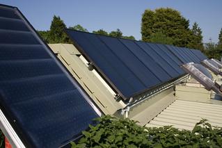 Brighton Earthship Solar Panels | by Dominic's pics