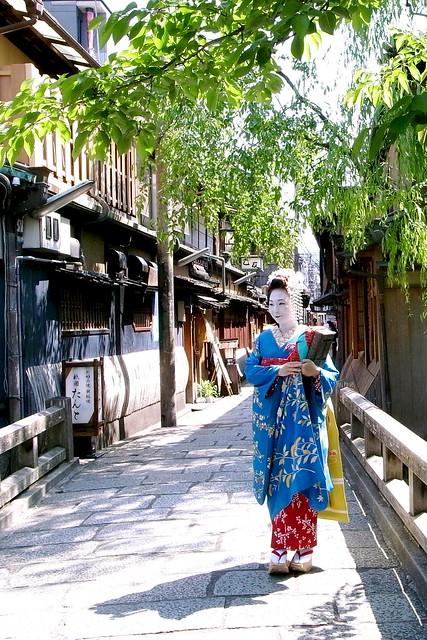 Maiko San, Gion, Kyoto / 舞子さん