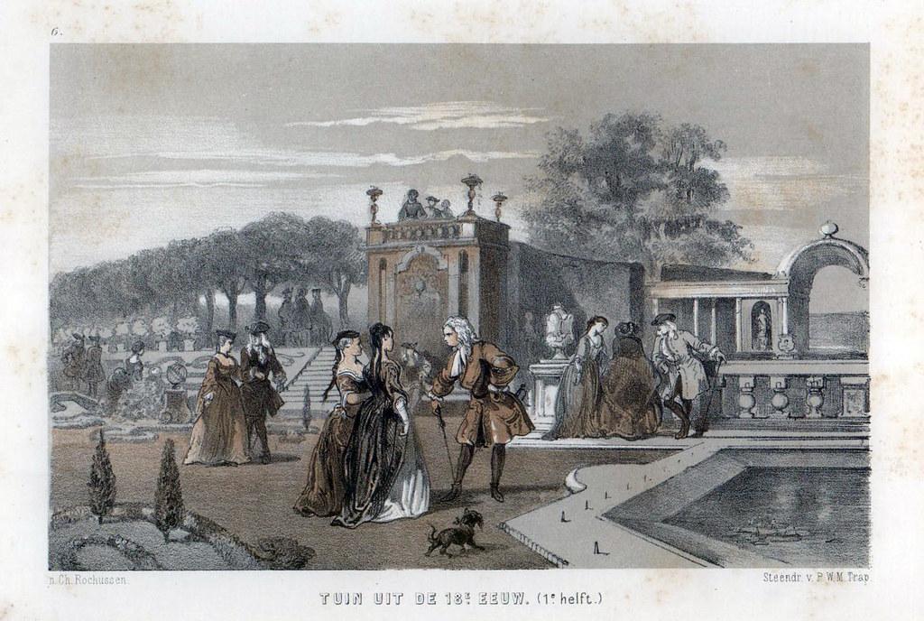 Garden from the 18th century (1st half) | Tuin uit de 18e ee… | Flickr