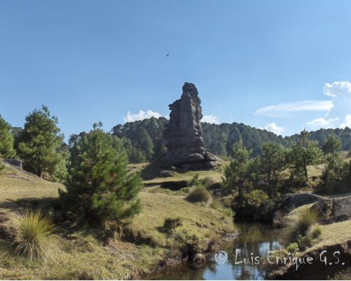 La Torre - Valle de Piedras Encimadas - Zacatlán Puebla, México