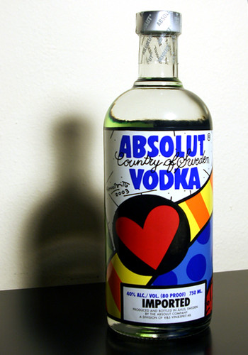 Absolut Vodka Romero Britto | by Leo Pat""