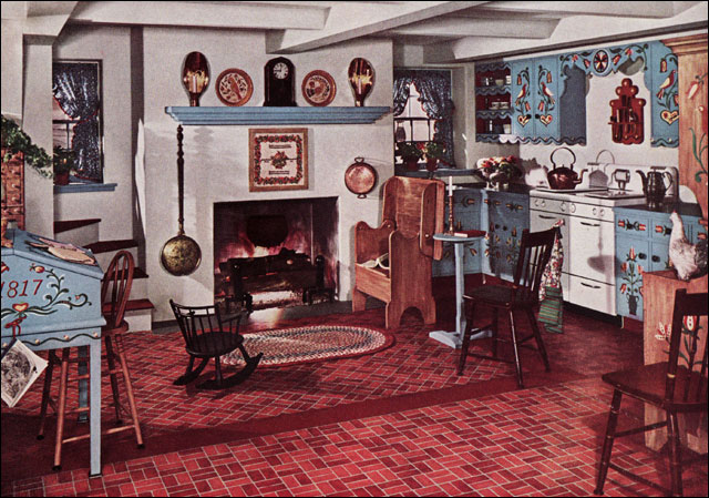 1942 Kitchen - Armstrong Cork Co.   From