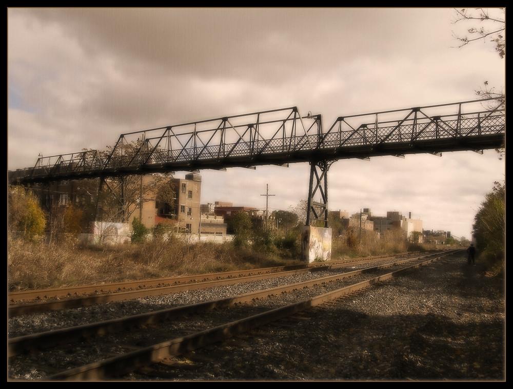Wallace Station Bridge by Tim Noonan