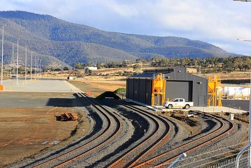 brighton rail australia tasmania marshallingyard railinfrastructure brightontransporthub locofacilities
