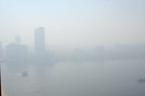 Nile River Cairo Air Pollution Smog and Haze | by ninahale
