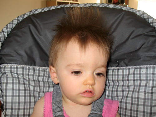 baby bed head   ART, shortly after waking, wondering what ...