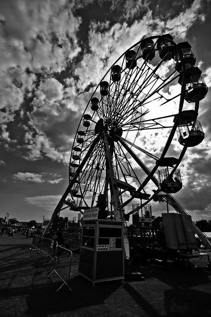 Isle of Wight Festival 2008. Festival Eye (Big Wheel)