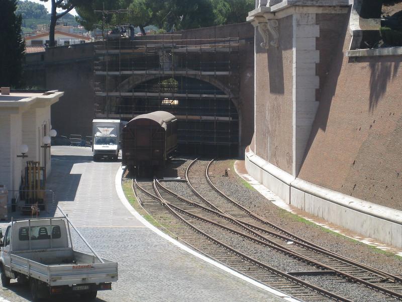 Vatican railway network