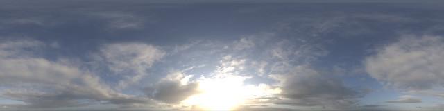 Hyperfocal HDRI Skies: Sunset Patterns | A good general purp